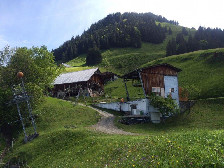 Bergstation Buiräbändli Brändlen