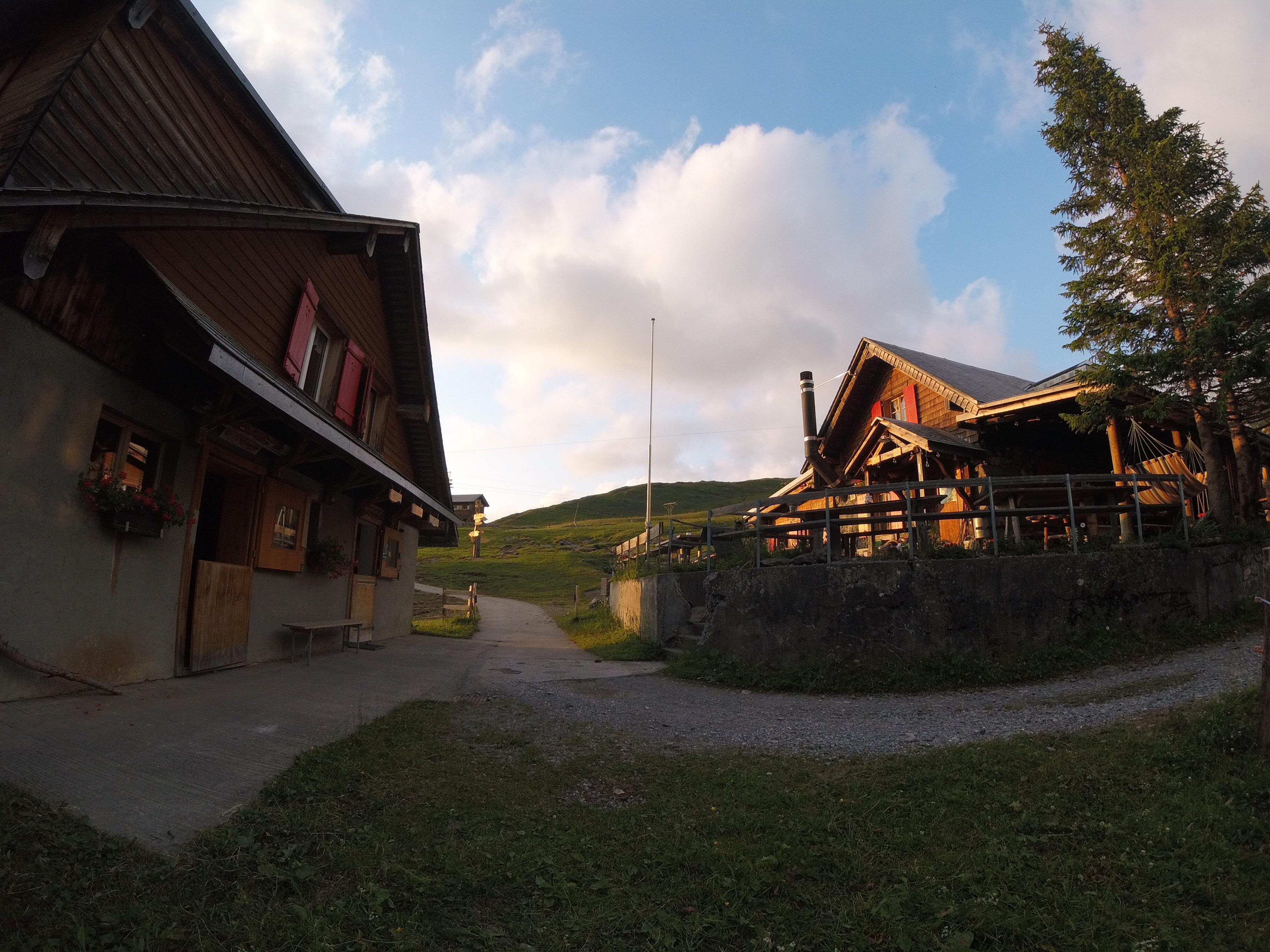 Areal Chrüzhütte Bannalp
