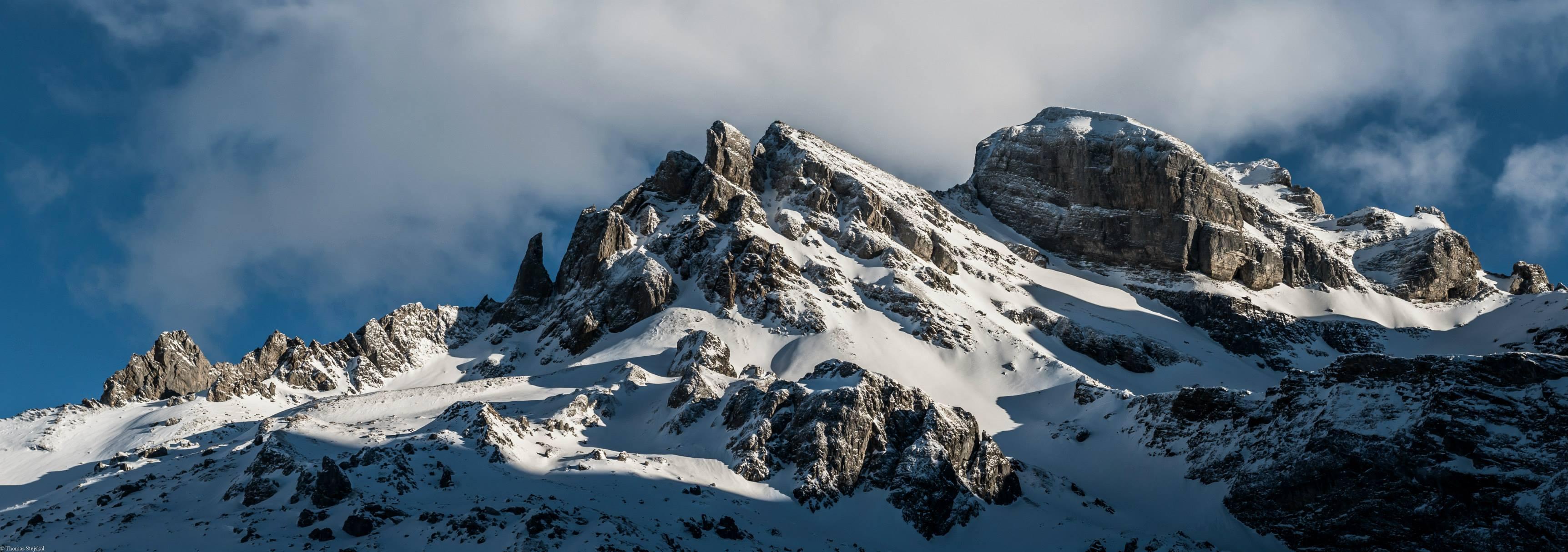 Bergpanorama Bannalp Winter
