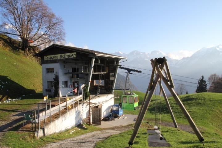 Bergstation Luftseilbahn Brändlen